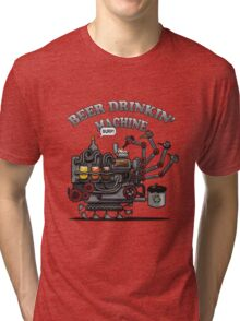 Beer Machine Tri-blend T-Shirt