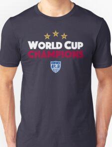 World Cup Champions USA Women's Soccer Team 2 T-Shirt