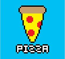 8-Bit Pizza by pai-thagoras