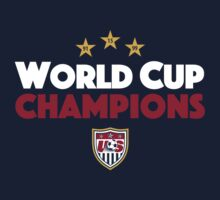 World Cup Champions USA Women's Soccer Team by soccerjoe
