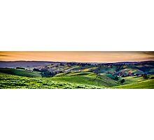 ...Gippsland sunset... Photographic Print