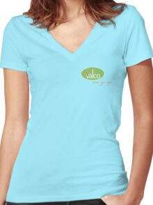 Valco - Serves You Right (Trollied TV show) Women's Fitted V-Neck T-Shirt