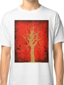 Abstract Tree Oil Painting Classic T-Shirt
