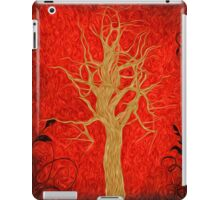 Abstract Tree Oil Painting iPad Case/Skin