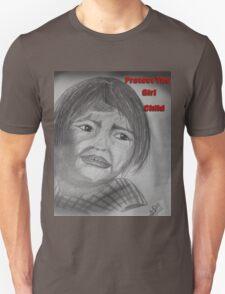 Indian Girl Struggling For Right Unisex T-Shirt