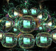 Fractal gems by walstraasart