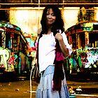 Technicolour Tramyard (Part of Glebe Tram Yard Series) by moonlover