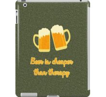 Beer Therapy iPad Case/Skin