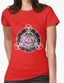 Galaxy Ruins of Arceus Womens Fitted T-Shirt