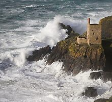Botallack Mine St Just Cornwall UK by Anthony Collins