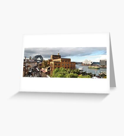 The Sydney Icons Greeting Card