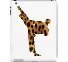 Leopard Kung Fu iPad Case/Skin