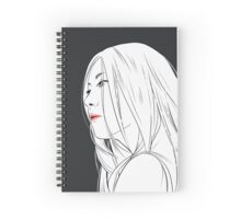Long Hair Spiral Notebook