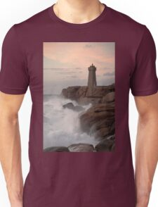 Lighthouse at St Guirec Brittany France Unisex T-Shirt
