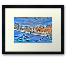 ALONG THE STURGEON (HDR) Framed Print