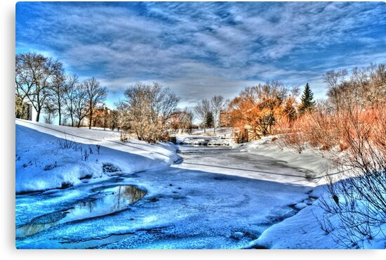 ALONG THE STURGEON (HDR) by Larry Trupp