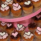 Mini Heart Cakes by tali