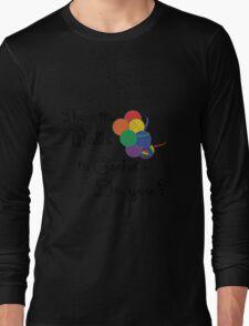 Balls 2 Crochet- Rainbow Long Sleeve T-Shirt