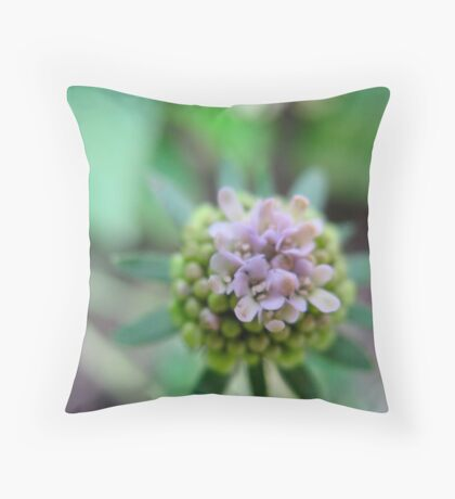 Launchpad Flower Throw Pillow