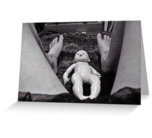 A Difficult Birth. Greeting Card