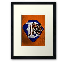 Tigers Baseball  Framed Print