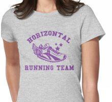 Horizontal Running Team Womens Fitted T-Shirt