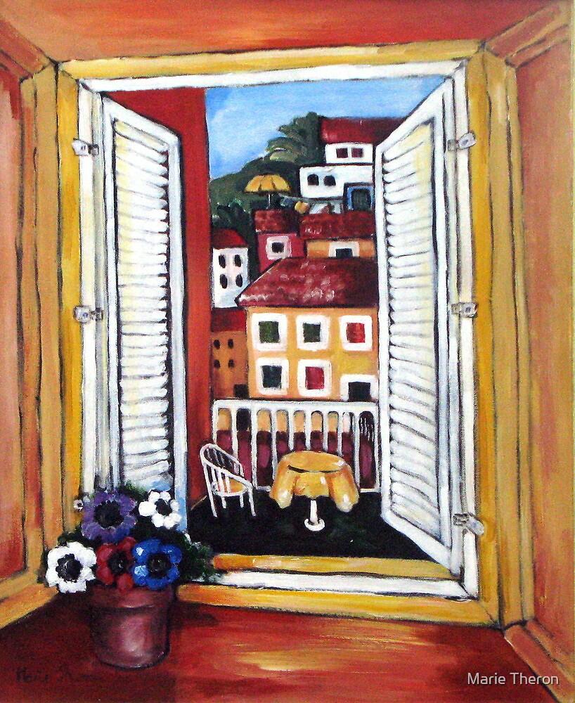 Window at Veli Losinj by Marie Theron