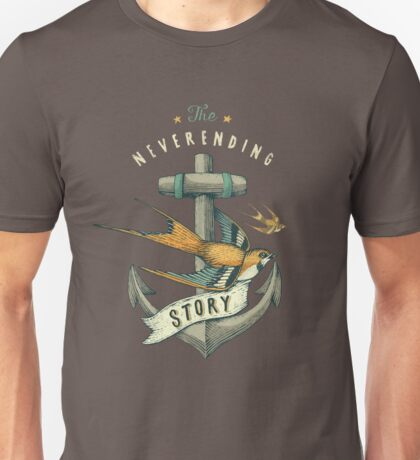 Anchor | Petrol Grey Unisex T-Shirt