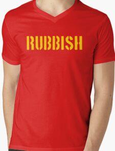 RUBBISH Mens V-Neck T-Shirt