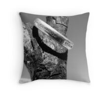 courage and vision Throw Pillow