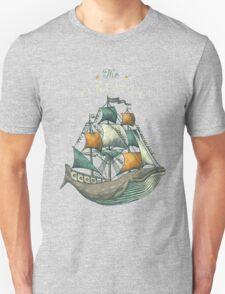 Whale | Petrol Grey T-Shirt