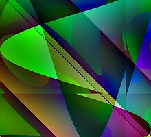 Sweep of Color by Kathleen   Sartoris