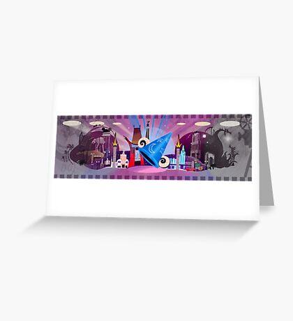 Hollywood Studios Greeting Card