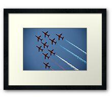 Red Arrows Number 1 Framed Print