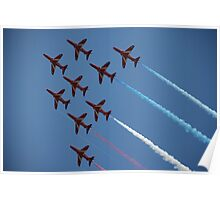 Red Arrows Number 1 Poster
