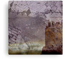 The Rabbit & the Crow Canvas Print