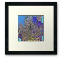 ( THUNDER  ROAD )  ERIC WHITEMAN  ART  Framed Print