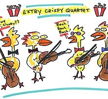 Extra Crispy Quartet by Ollie Brock