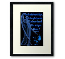 ⊱✿ ✿⊰SYMPATHY CARD WITH BIBLICAL SCRIPTURE⊱✿ ✿⊰ Framed Print