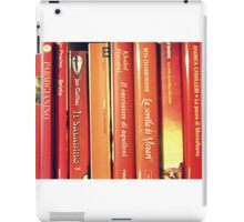 red books iPad Case/Skin