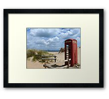 Little Red Box on Holiday Framed Print