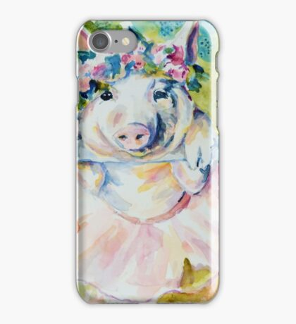 Miss Piggy at the Bar iPhone Case/Skin