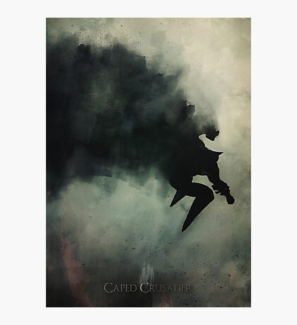 Caped Crusader... Photographic Print