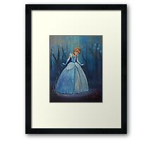 You shall go to the ball Framed Print
