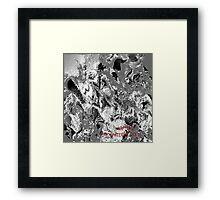 ( RAPTORS  )  ERIC WHITEMAN  ART Framed Print