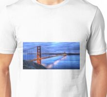 Golden Gate Bridge Oil Painting Unisex T-Shirt