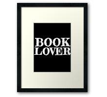 Book Lover Framed Print