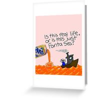 FantaSea!! Greeting Card