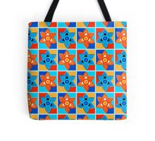 Daffodils retro style pattern Tote Bag