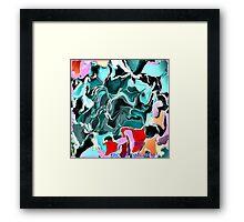 ( RAP ) ERIC WHITEMAN ART   Framed Print